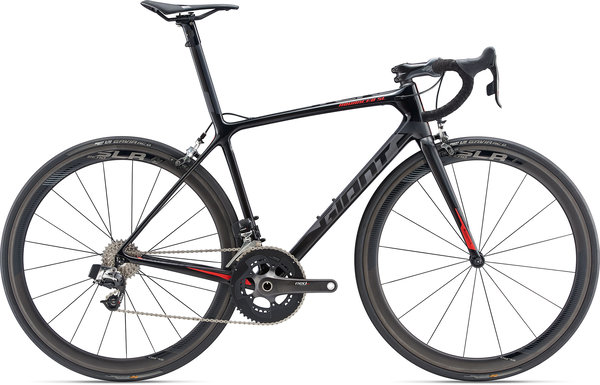 Giant TCR Advanced SL 0 RED Color: Carbon