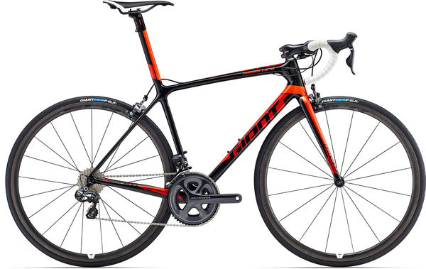 Giant TCR Advanced SL 1 Color: Composite/Orange/Red