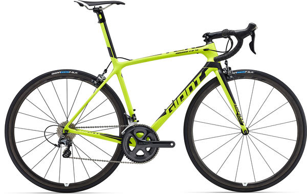 Giant TCR Advanced SL 2 Color: Matte Lime/Black