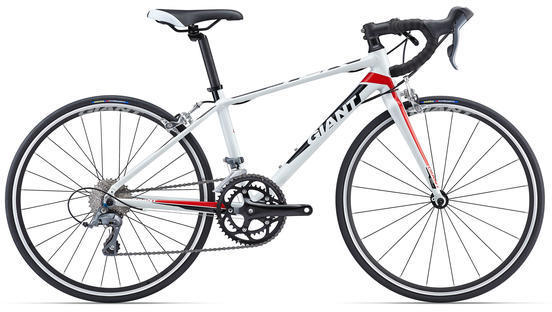 Giant TCR Espoir 24 Color: White/Red
