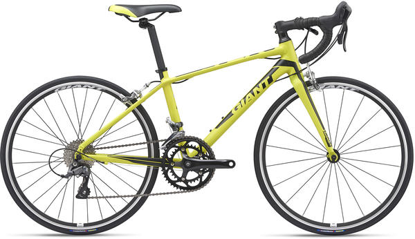 Giant TCR Espoir 24 Color: Lime/Black