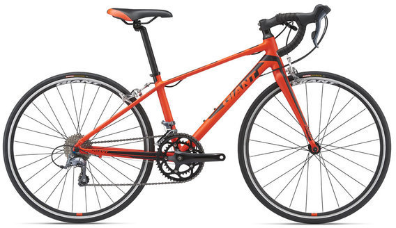 Giant TCR Espoir 26 Color: Neon Red/Black
