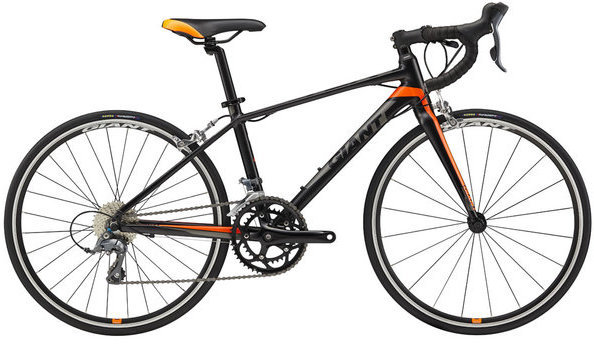Giant TCR Espoir 24 Color: Black/Orange/Charcoal