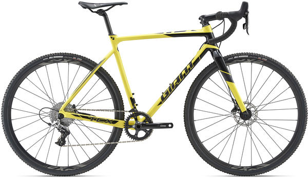 Giant TCX SLR 1 Color: Lemon Yellow/Black/Gun Metal Black