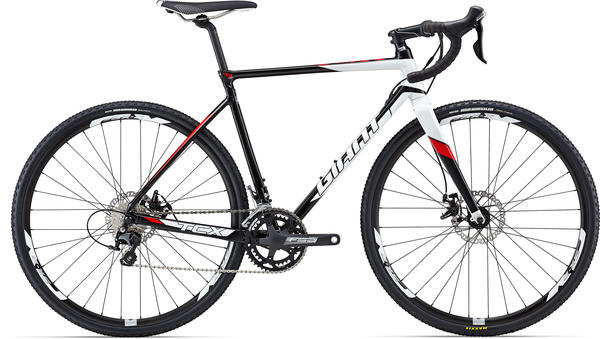 Giant TCX SLR 2 Color: Black/White/Red