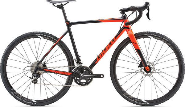 Giant TCX SLR 2 Color: Black/Neon Red