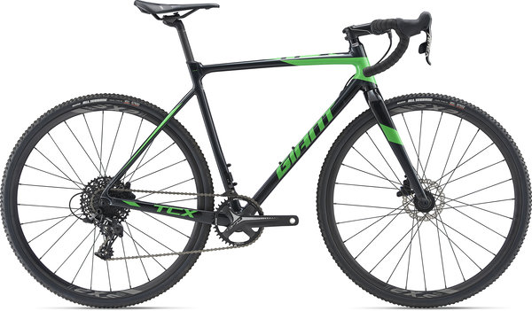 Giant TCX SLR 2 Color: Metallic Black