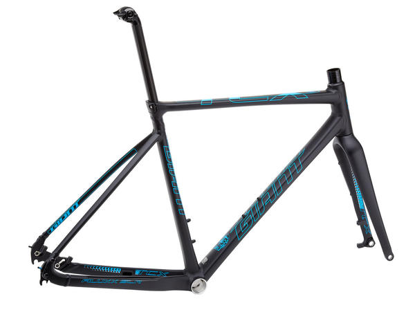 Giant TCX SLR SS Frameset Color: Black/Blue
