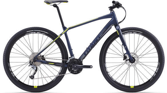 Giant Toughroad SLR 2 Color: Matte Navy Blue/Green