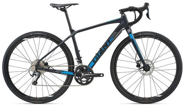 Giant ToughRoad SLR GX 1 Color: Matte Dark Blue/Dark Silver/Blue