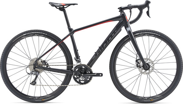 Giant ToughRoad SLR GX 3 Color: Gun Metal Black/Red/Charcoal