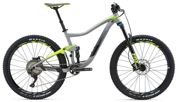 Giant Trance 2 Color: Matte Grey/Neon Yellow/Green