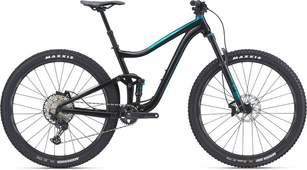 Giant Trance 29 2 Color: Black/Teal