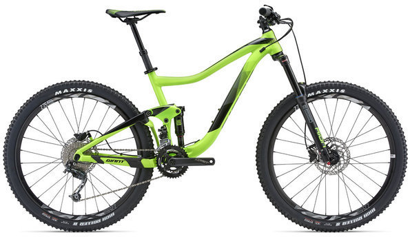 Giant Trance 4 Color: Neon Green/White