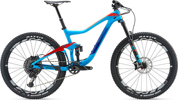 Giant Trance Advanced 1 Color: Blue/Neon Red/Dark Blue
