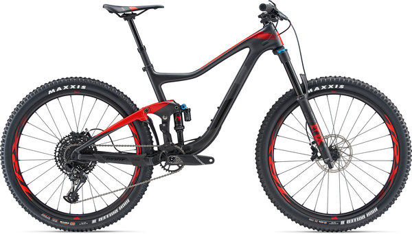Giant Trance Advanced 2 Color: Gun Metal Black/Pure Red/Black