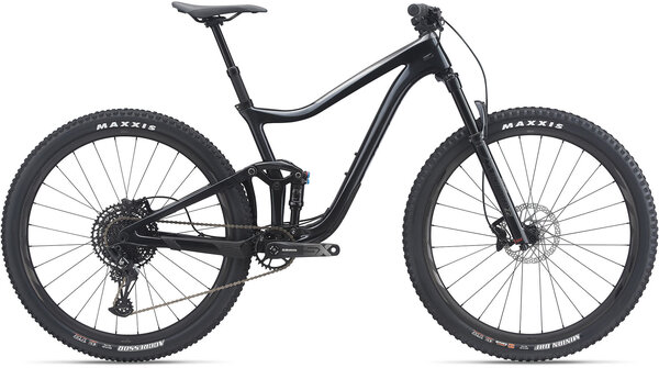 Giant Trance Advanced Pro 29 3 Color: Metallic Black/Glitter Gray/Chrome