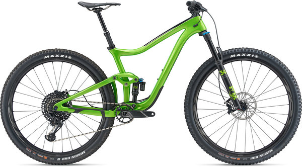 Giant Trance Advanced Pro 29 1 Color: Metallic Green/Carbon