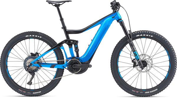 Giant Trance E+ 2 Color: Black/Blue