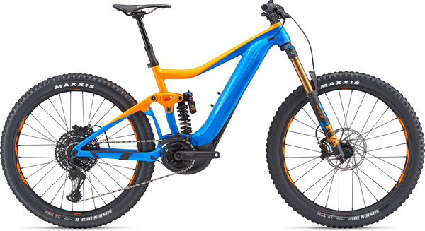 Giant Trance SX E+ 0 Pro Color: Orange/Blue