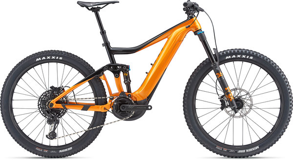 Giant Trance E+ 1 Color: Black/Orange