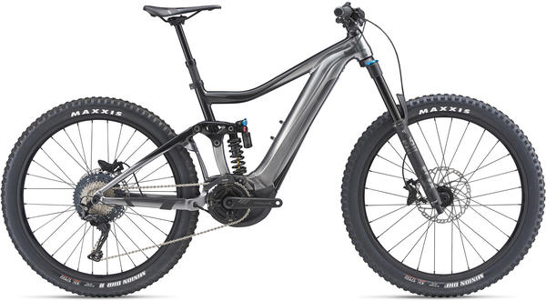 Giant Trance SX E+ 1 Pro Color: Metallic Black/Metallic Charcoal