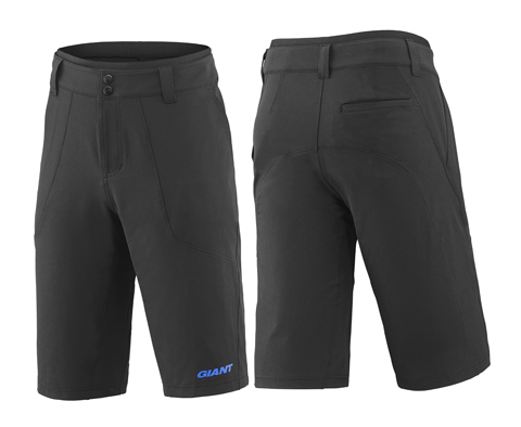 Giant Trans Baggy Short Color: Black