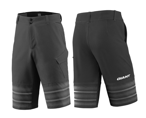 Giant Transcend Baggy Short Color: Black
