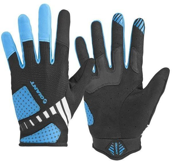Giant Transcend Long Finger Gloves Color: Black/Blue