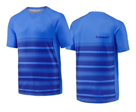 Giant Transcend S/S Jersey Color: Blue