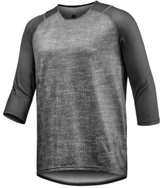 Giant Transfer 3/4 Sleeve Jersey Color: Grey/Charcoal