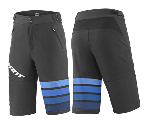 Giant Transfer Baggy Short Color: Black/Blue