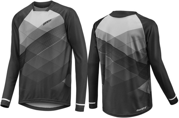 Giant Transfer Long Sleeve Jersey Color: Black