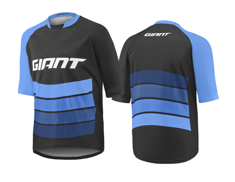 Giant Transfer S/S Jersey Color: Black/Blue