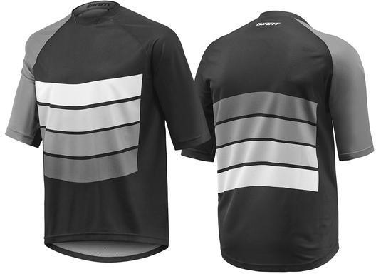 Giant Transfer Short Sleeve Jersey Color: Black/Grey