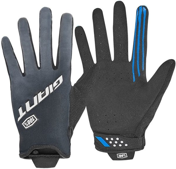 Giant Traverse 100% Long Finger Gloves Color: Black/Grey
