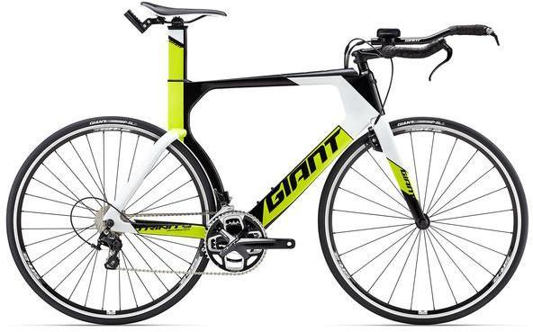 Giant Trinity Advanced Color: Composite/White-Lime Green