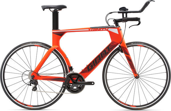Giant Trinity Advanced Color: Matte Neon Red/Black/White
