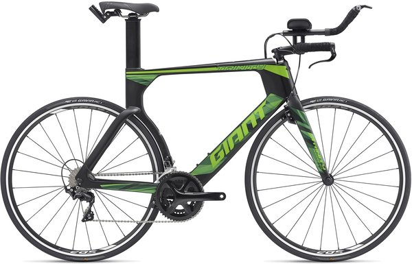 Giant Trinity Advanced (g5) Color: Carbon/Green
