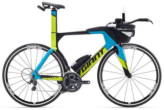 Giant Trinity Advanced Pro 2 Color: Composite/Blue-Lime Green