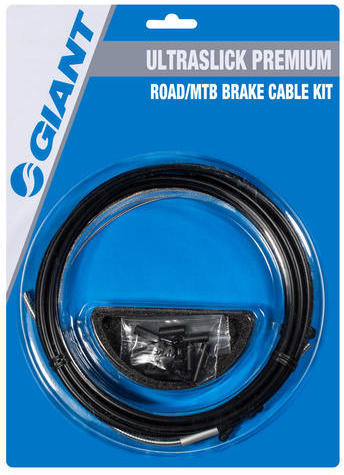 Giant Ultraslick Premium Road/MTB Brake Cable Kit Color: Black