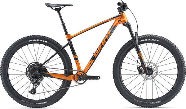 Giant XTC Advanced + 2 Color: Metallic Orange/Carbon/Black