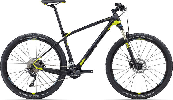 Giant XTC Advanced 27.5 3 Color: Composite/Yellow