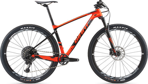 Giant XTC Advanced 29 1 Color: Neon Red