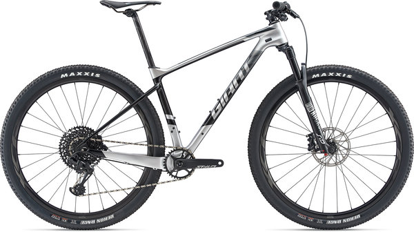 Giant XTC Advanced 29 1 Color: Rainbow Silver/Carbon/Black