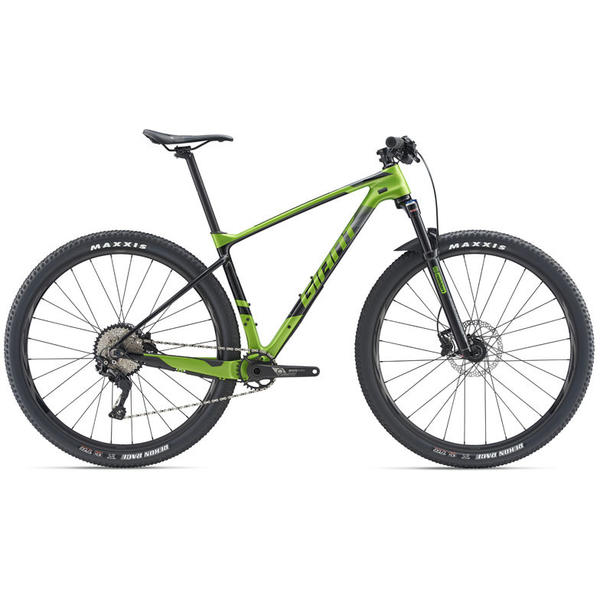 Giant XTC Advanced 29er 3 Color: Metallic Green/Carbon/Black
