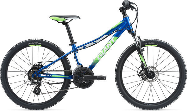 Giant XTC Jr 1 24 Disc Color: Electric Blue