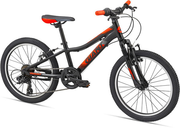 Giant XtC Jr 20 Color: Black/Neon Orange/Charcoal