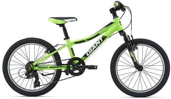 Giant XTC Jr 20 Color: Neon Green/Silver/Black