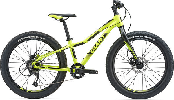 Giant XTC Jr 24+ Color: Satin Yellow/Black